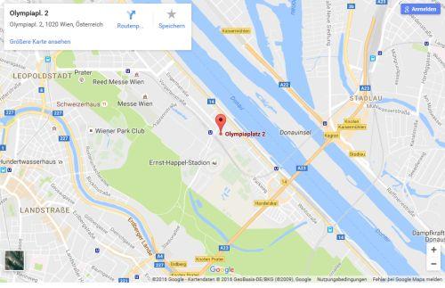 zur Anfahrt mit google maps